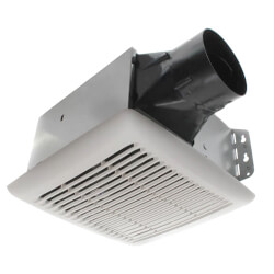 InVent Fan Finish Pack w/ White Grille, No Light<br>(110 CFM, 3.0 Sones) Product Image