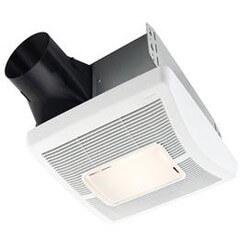 InVent Series Single-Speed Fan Light<br>(80 CFM, 1.0 Sones) Product Image