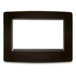 Black Face Plate for ColorTouch Thermostats
