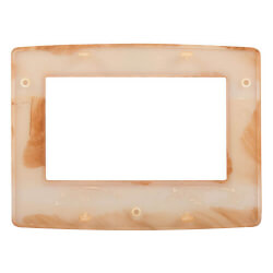 Burl Wood Face Plate for ColorTouch Thermostats