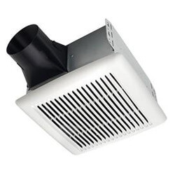 InVent Series Fan Pack with White Grille, No Light (110 CFM, 1.3 Sones) Product Image