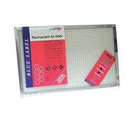 "Blue Label Permanent Air Filter, 14""x30""x1"""