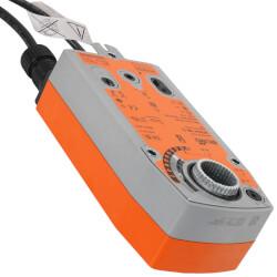 SR Prop. Damper Act.<br>Dir. Coupled, 24V<br>W/ Aux. Switch Product Image