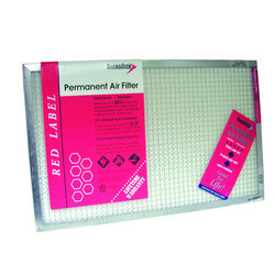 "Red Label Permanent Air Filter, 14""x20""x1"" Product Image"