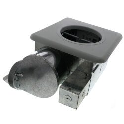 "AK917 Single Bulb Heater<br>and Fan, 4"" (70 CFM) Product Image"