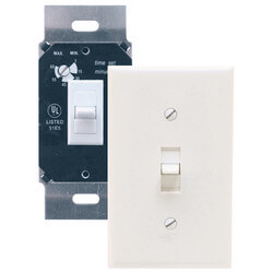 AKDT60W Two Position Delay Timer Switch<br>60 Minute (White) Product Image