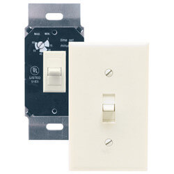 AKDT63I Three Position Delay Timer Switch<br>60 Minute (Ivory) Product Image
