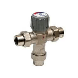 "1/2"" Union NPT Mixing Valves, 100-145F Product Image"