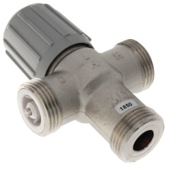 "3/4"" Union PEX Lead Free Mixing Valve (70-120F) Product Image"