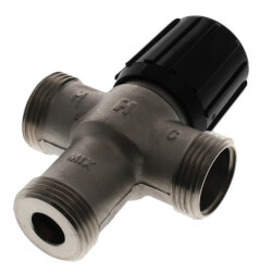 "1/2"" Union NPT Mixing Valve (Heating Only) Product Image"
