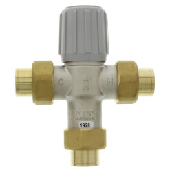 "3/4"" Sweat Union Mixing Valve (LF) Product Image"