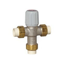 "1/2"" Union CPVC Lead Free Mixing Valve (70-120F) Product Image"