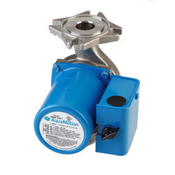 AMR 4 Bolt Flange Stainless Steel 3-Speed Circulator, 0.127 HP