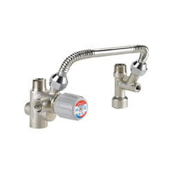 "DirectConnect Water Heater Kit (Includes 3/4"" ASSE 1017 Mixing Valve, 3/4"" Cold Water Tee, 11"" Flexible SS Connector)"