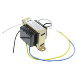 "Foot mounted 40 Vac Transformer with 1/4"" Male Quick Connects"