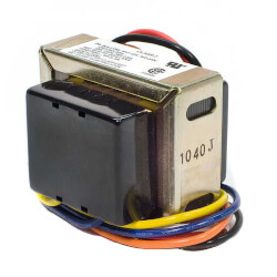 Foot mounted 277 Vac Transformer with 9 in. leadwires and plastic end caps