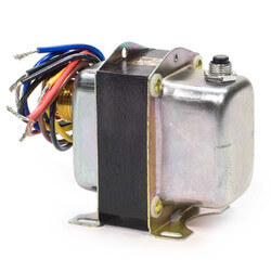 "Plate or Panel Mounted 120/208/240 Vac Transformer w/ 9"" Lead Wires & Metal End Bells Product Image"