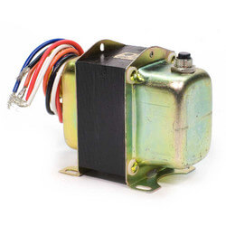 Plate or panel mounted 120/208/240 Vac Transformer with 9 in. lead wires and metal end bells