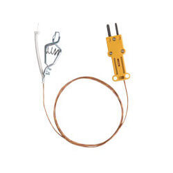 ATAF1, High Temperature K-Type Thermocouple w/ Alligator Clip