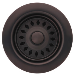 Oil Rubbed Bronze Basket Strainer Product Image