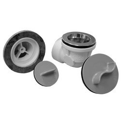 Std. PVC Bath Waste RI Kit w/ CP Lift & Turn Drain Body (1 Hole) Product Image