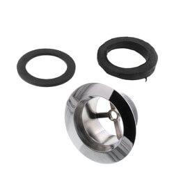 Std. PVC Bath Waste RI Kit w/ CP Lift & Turn Drain Body (2 Hole) Product Image