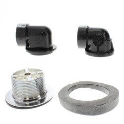 Std. ABS Bath Waste RI Kit w/ CP Lift & Turn Drain Body (2 Hole) Product Image