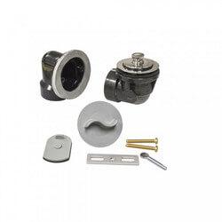 Std. ABS Bath Waste RI Kit w/ CP Friction Lift Drain Body & Test Kit (2 Hole) Product Image
