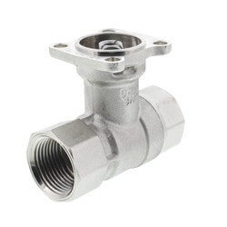 """3/4"""" B2 Series, 2-Way Control Valve, 24 Cv Stainless Steel Product Image"""