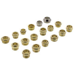 144 Piece Faucet Seat Kit Product Image