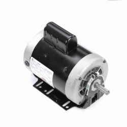 "6-1/2"" Capacitor Start Base Motor (208-230/115V, 3450 RPM, 1-1/2 HP) Product Image"