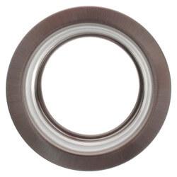 """3-1/2"""" Garbage Disposal Flange (Satin Nickel) Product Image"""