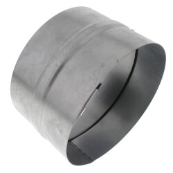 "BDD6R 6"" Round Duct Metal Back Draft Damper Product Image"