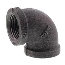 "3/4"" Black 90° Elbow Product Image"