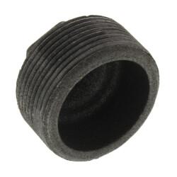 """1-1/2"""" x 1/4"""" Black Hex Bushing Product Image"""