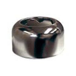 "1-1/2"" OD Sweat (Tubular Size) Chrome-Plated Steel Box Escutcheon (3"" OD)"