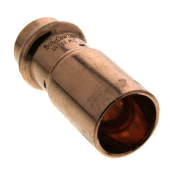 "3/4"" FTG x 1/2"" Press Copper Reducer Product Image"