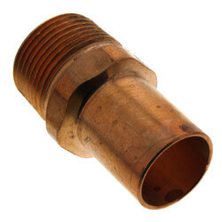 "3/4"" FTG Press x Male Copper Street Adapter Product Image"