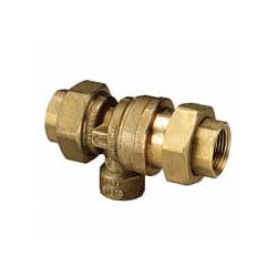 "3/4"" NPT Dual Check Intermediate Vacuum Breaker Product Image"