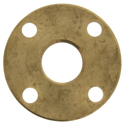 "1-1/2"" FNPT Brass Companion Flange, 150 psi (Lead-Free) Product Image"