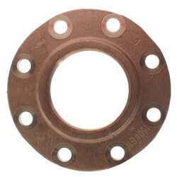 "4"" FNPT Brass Companion Flange, 150 psi (Lead-Free) Product Image"
