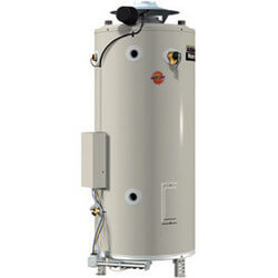 100 Gallon - 250,000 BTU Commercial Gas Water Heater