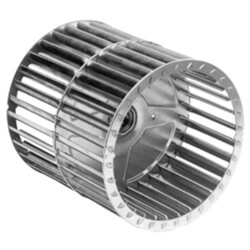 "Double Inlet Blower Wheel (5-9/16"" Diameter, 1/2"" Bore) Product Image"