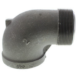"1/4"" Extra Heavy Black 90° Street Elbow Product Image"