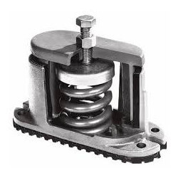 "1"" Deflection Spring Floor Mount Vibration Isolator (150 lbs Capacity) Product Image"