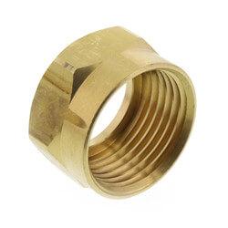 "5/8"" x 7/8"" Brass Ballcock Coupling Nut (Bag of 25) Product Image"
