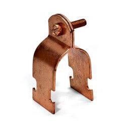"1/4"" Copper Multi-Strut Pipe Clamp Product Image"