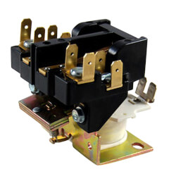 Magnetic Contactor - DPST, 30 Amps, 24 Coil Voltage Product Image