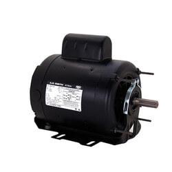 "6-1/2"" Cap. Start Motor w/ Auto Overload (115/208-230V, 1725 RPM, 1/2 HP) Product Image"