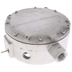 """Manual Reset, 1"""" to 26"""" WC Pressure Switch (Subtractive) Product Image"""
